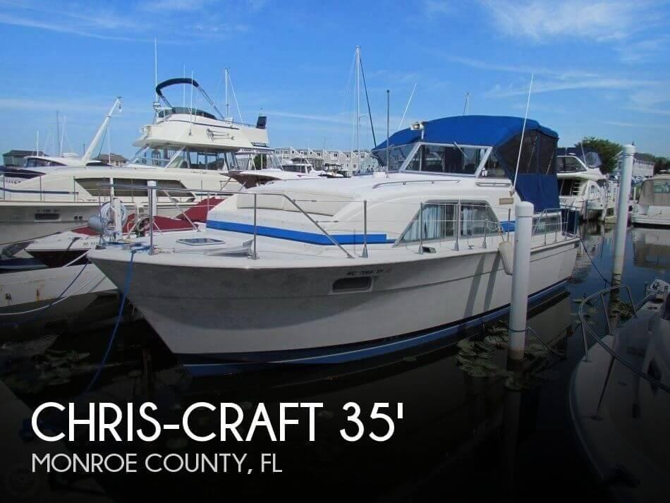1974 Chris-Craft 350 Catalina - Photo #1