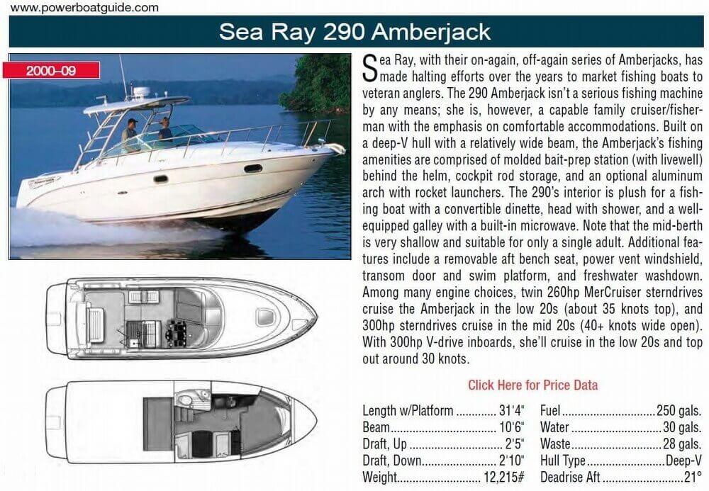 2000 Sea Ray 290 Amberjack - Photo #3