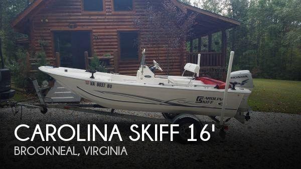 2012 Carolina Skiff JVX 16 - Photo #1