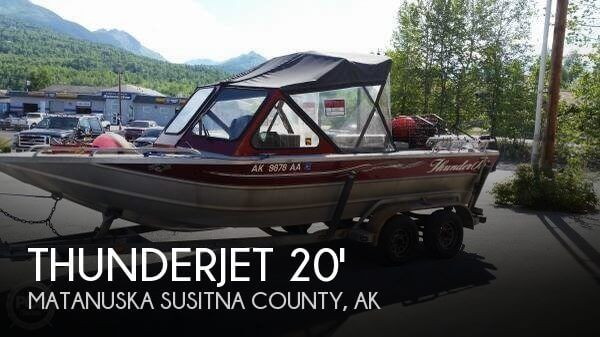 2001 THUNDERJET 20 SPORTSMAN for sale