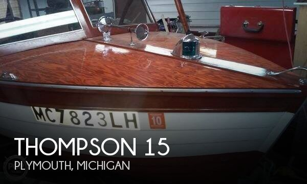 Used Thompson Boats For Sale by owner | 1957 Thompson 15