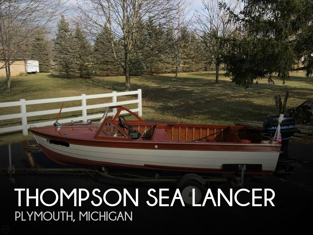1957 Thompson boat for sale, model of the boat is Sea Lancer & Image # 1 of 40