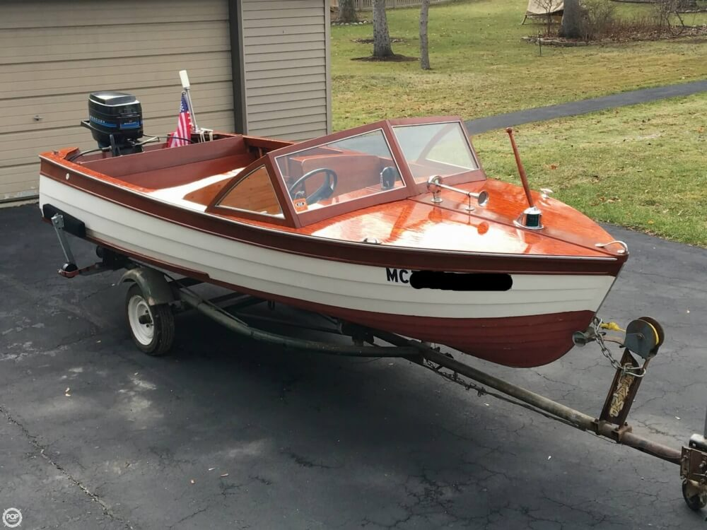 1957 Thompson boat for sale, model of the boat is Sea Lancer & Image # 3 of 40