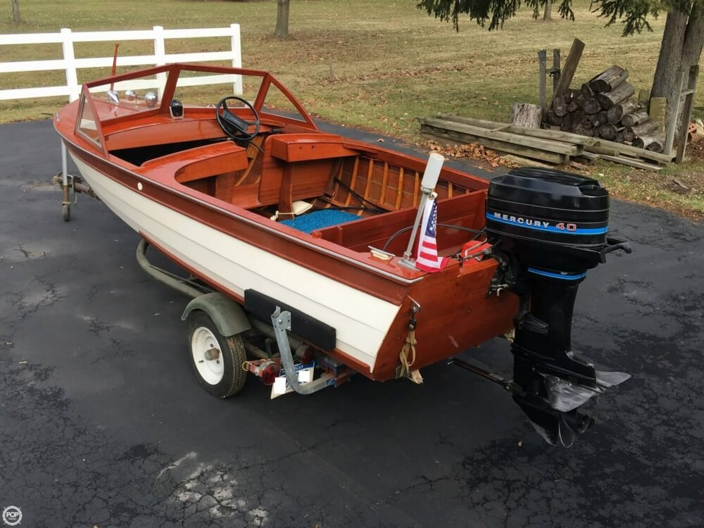 1957 Thompson boat for sale, model of the boat is Sea Lancer & Image # 5 of 40