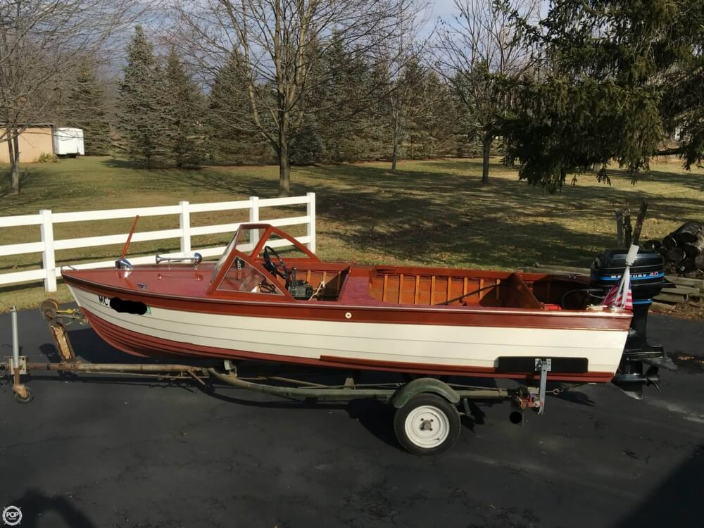 1957 Thompson boat for sale, model of the boat is Sea Lancer & Image # 15 of 40