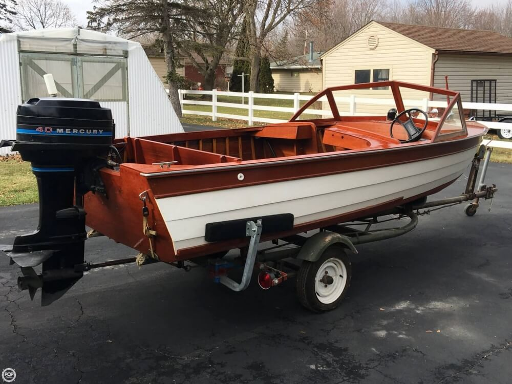 1957 Thompson boat for sale, model of the boat is Sea Lancer & Image # 26 of 40