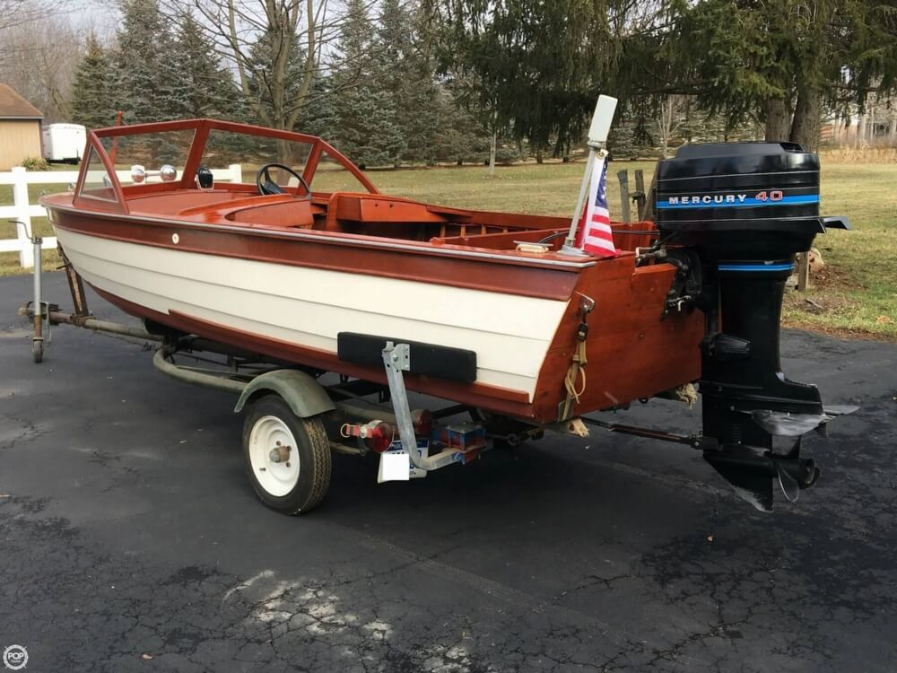 1957 Thompson boat for sale, model of the boat is Sea Lancer & Image # 30 of 40