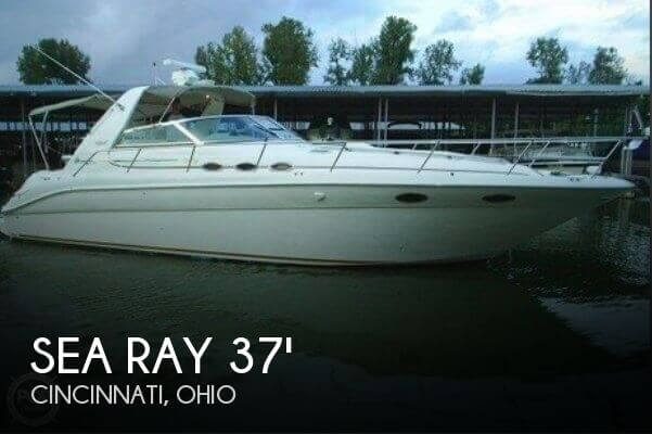 1998 Sea Ray 370 Sundancer - Photo #1