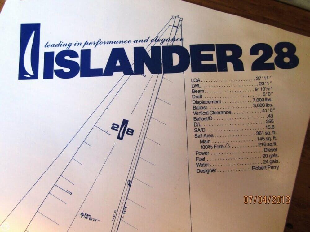 1985 Islander 28 - Photo #13