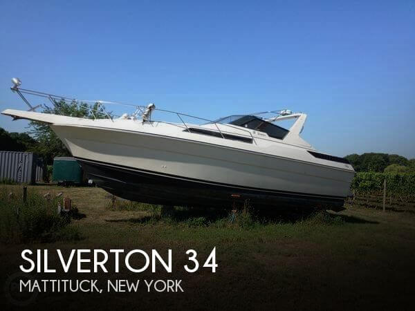 Used Power boats For Sale by owner | 1987 Silverton 34