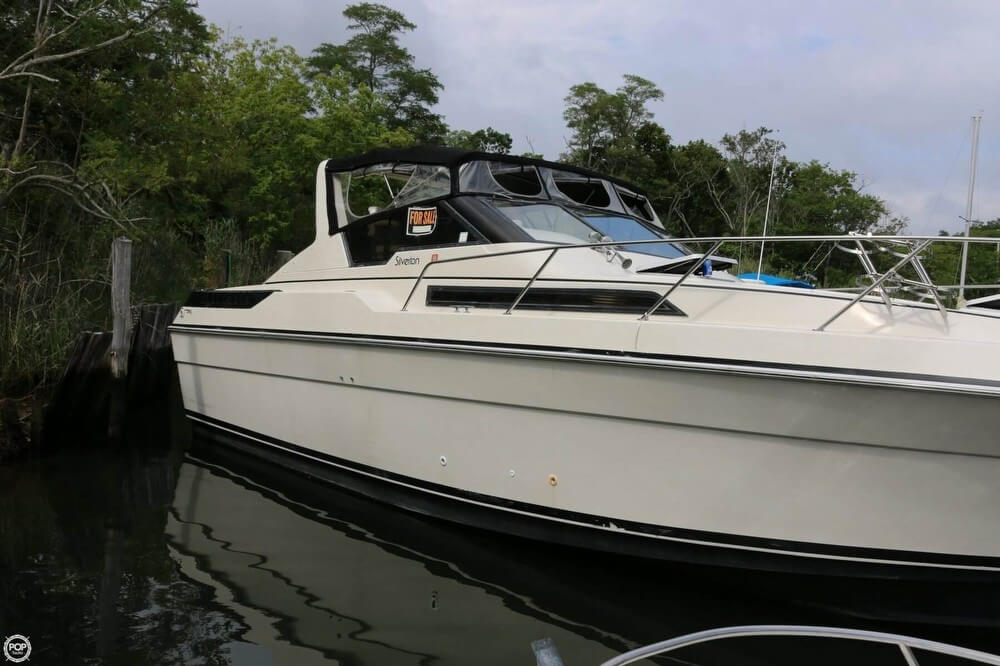 1987 Silverton boat for sale, model of the boat is 34 Express & Image # 12 of 40