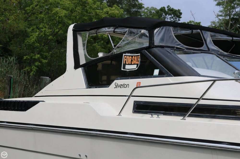 1987 Silverton boat for sale, model of the boat is 34 Express & Image # 17 of 40