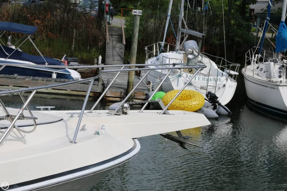 1987 Silverton boat for sale, model of the boat is 34 Express & Image # 20 of 40