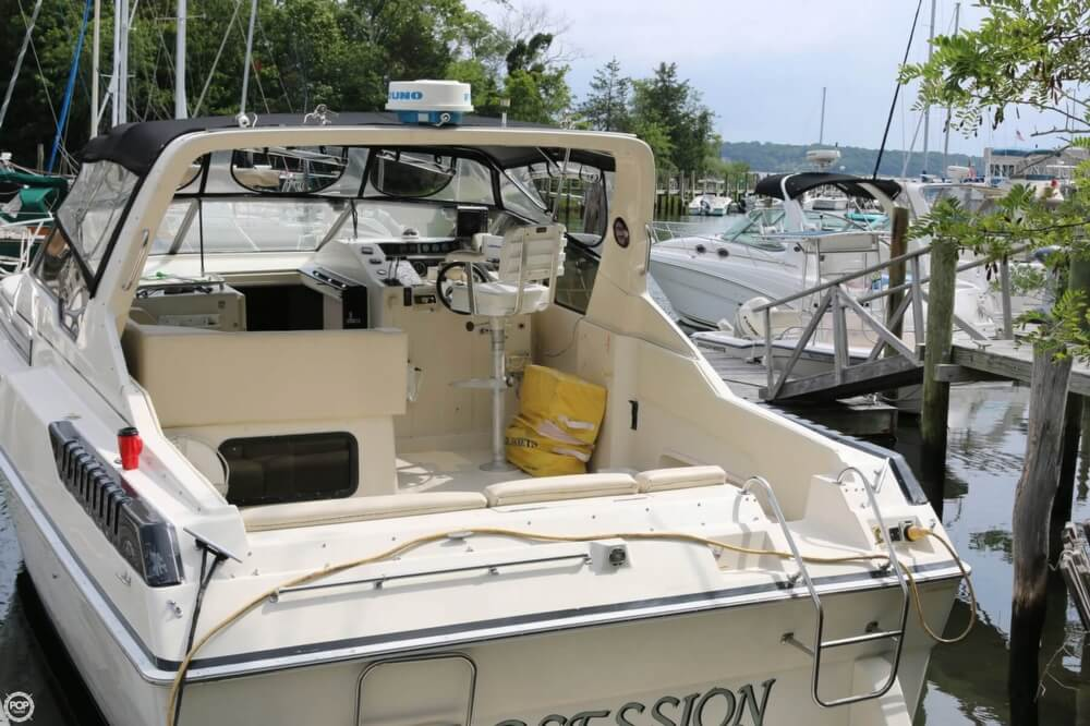 1987 Silverton boat for sale, model of the boat is 34 Express & Image # 33 of 40