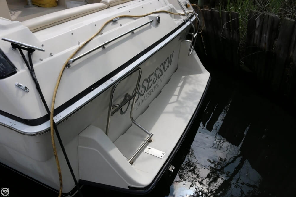 1987 Silverton boat for sale, model of the boat is 34 Express & Image # 36 of 40