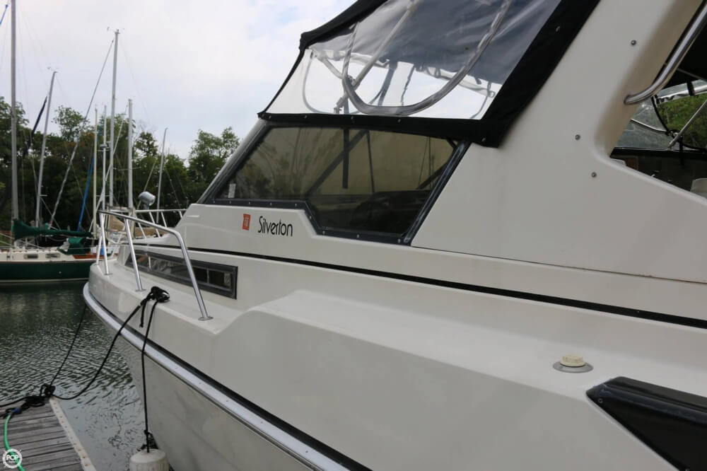1987 Silverton boat for sale, model of the boat is 34 Express & Image # 40 of 40