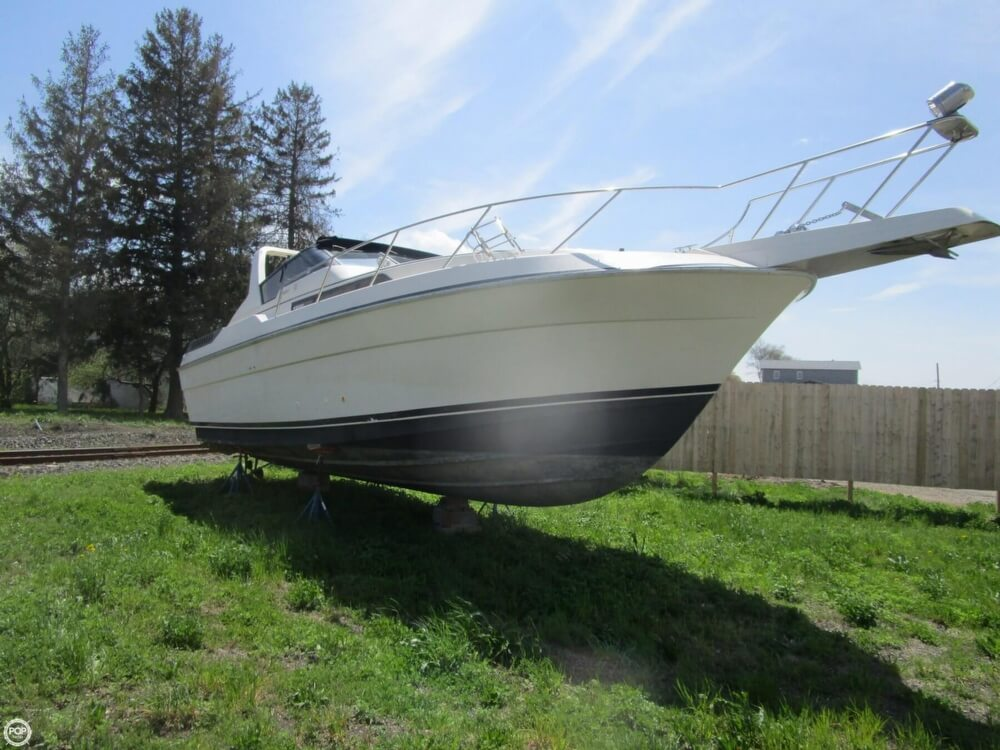 1987 Silverton boat for sale, model of the boat is 34 Express & Image # 8 of 40