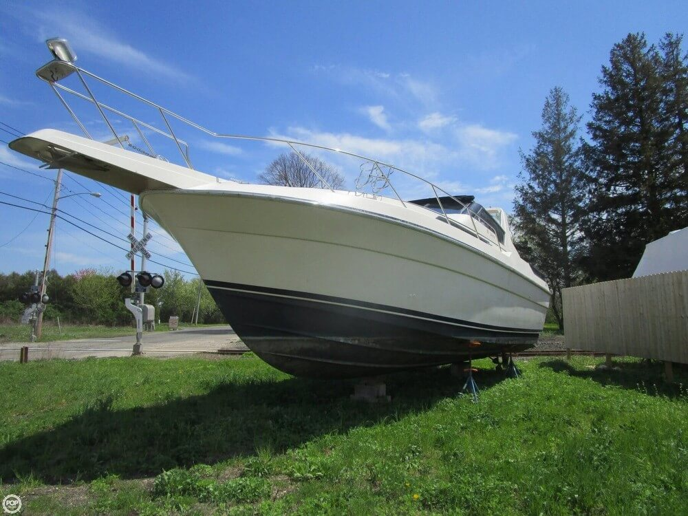 1987 Silverton boat for sale, model of the boat is 34 Express & Image # 6 of 40