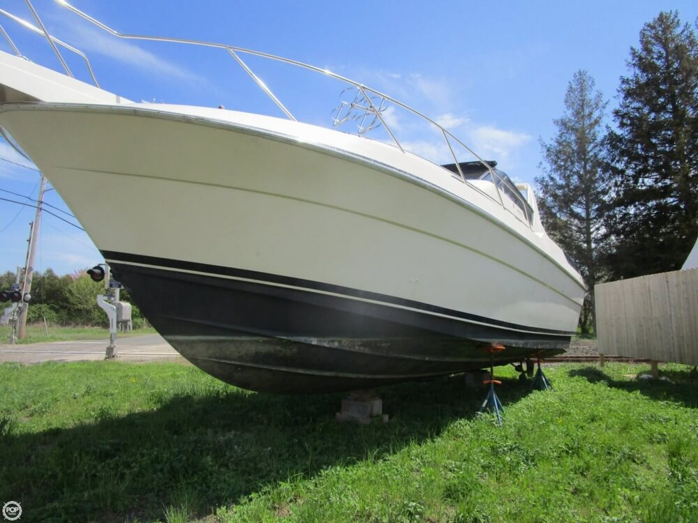 1987 Silverton boat for sale, model of the boat is 34 Express & Image # 9 of 40