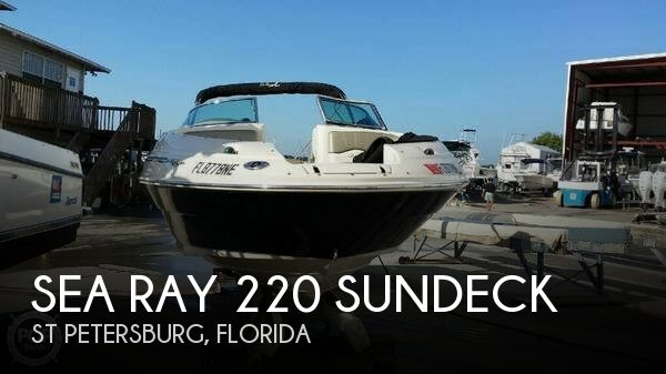 2006 Sea Ray 220 Sundeck - Photo #1