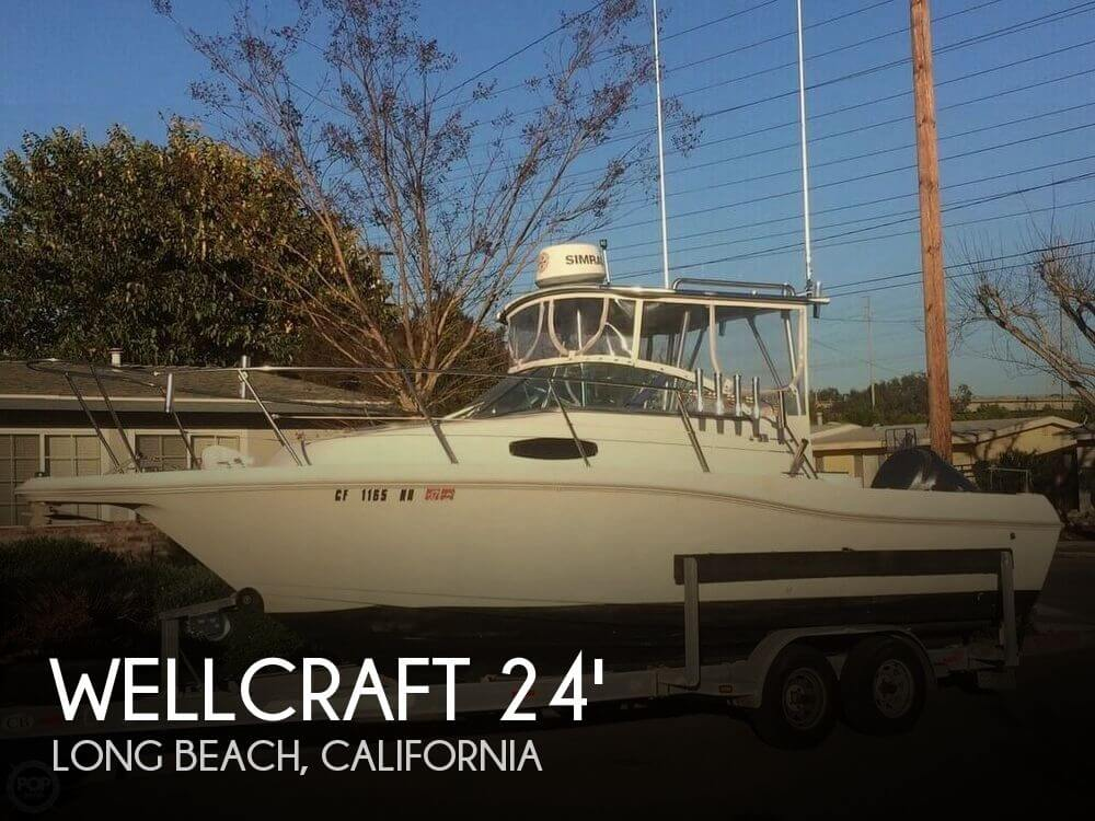 Used Wellcraft Boats For Sale in California by owner | 1995 Wellcraft 24