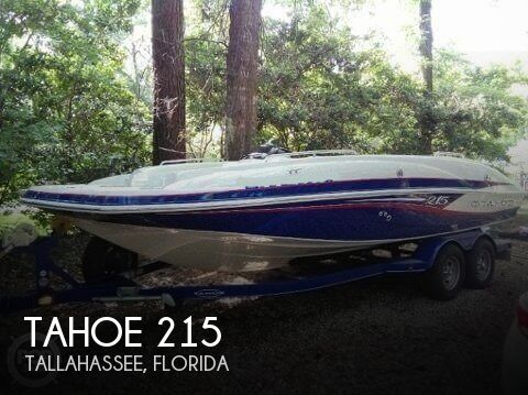 2014 Tahoe boat for sale, model of the boat is 215 & Image # 1 of 12