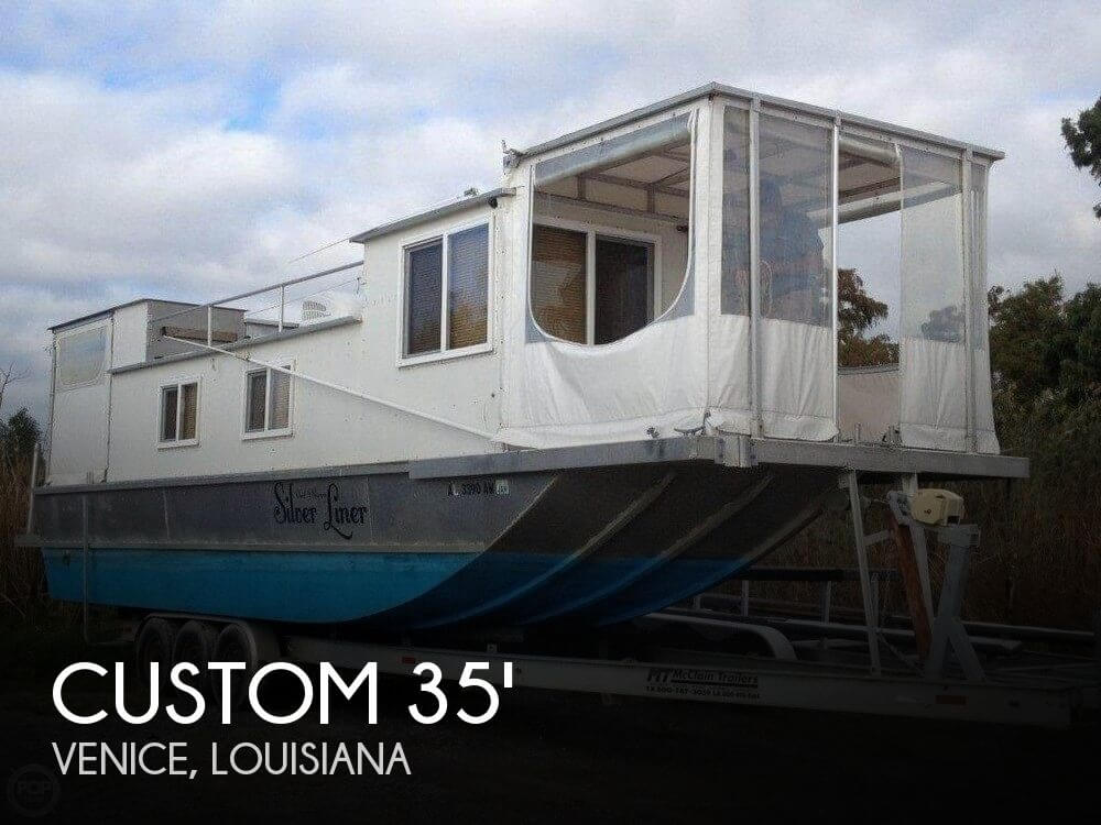 Used Custom Houseboats For Sale by owner | 2007 Custom 35