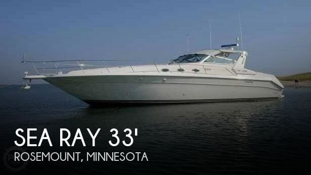 Used Boats For Sale in Rochester, Minnesota by owner | 1997 Sea Ray 33