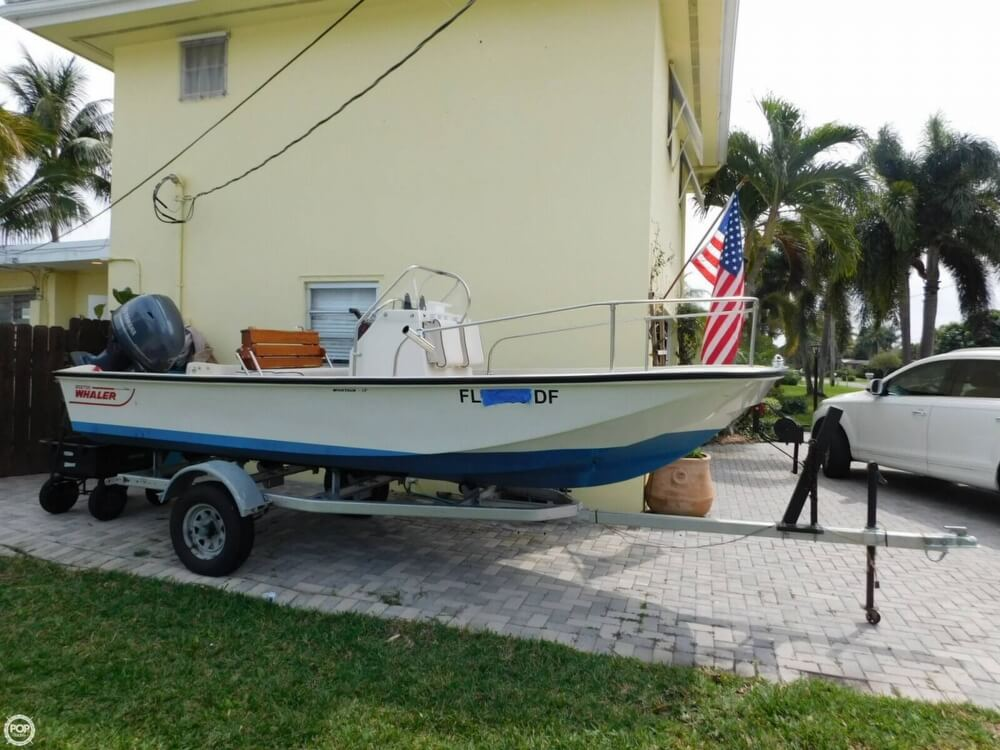 1979 Boston Whaler Montauk 17 - Photo #3
