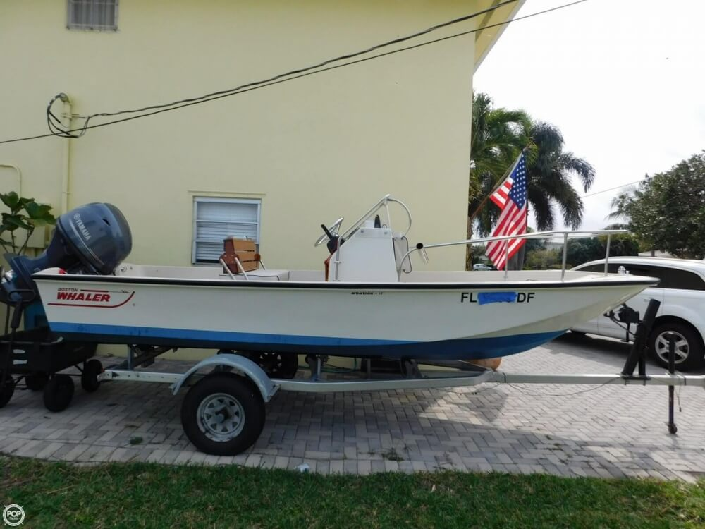 1979 Boston Whaler Montauk 17 - Photo #4