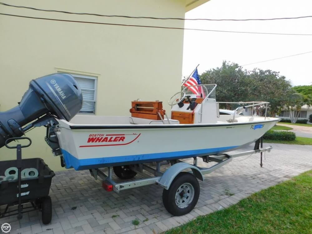 1979 Boston Whaler Montauk 17 - Photo #5