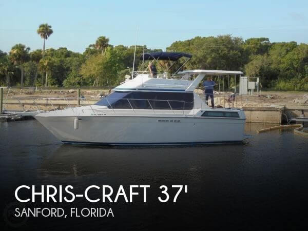 1988 Chris-Craft 372 Catalina DC - Photo #1