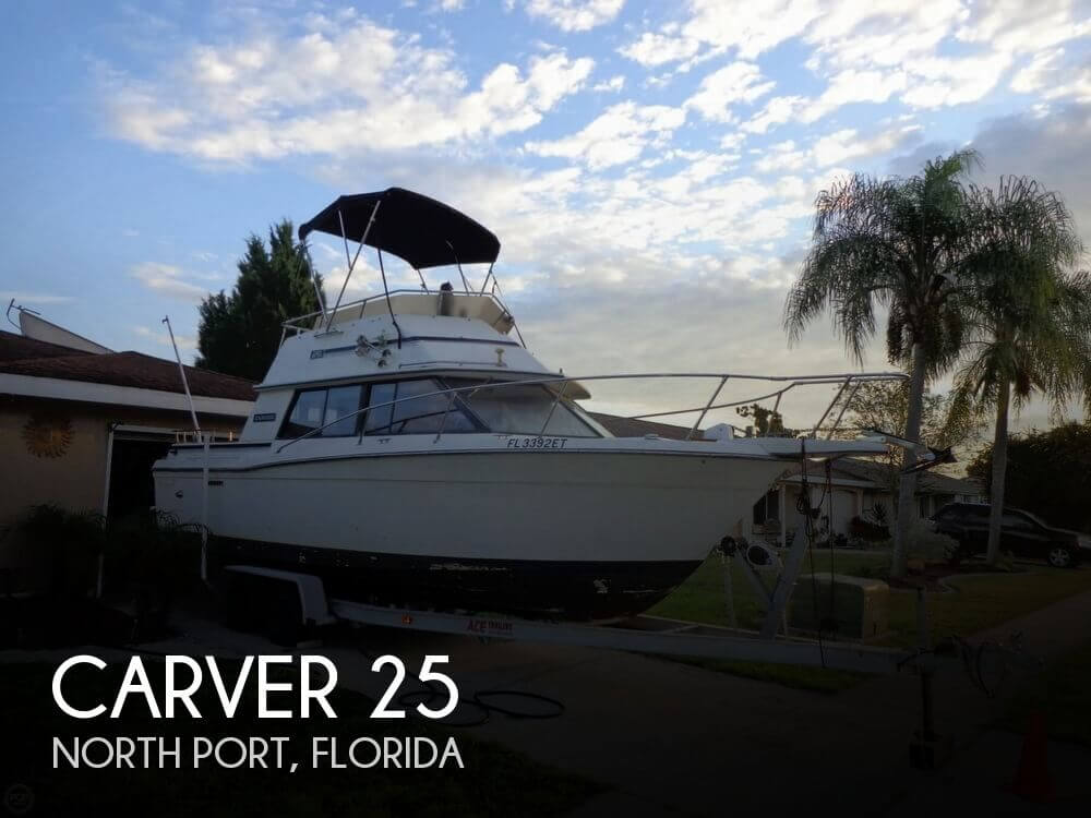 Used Carver Boats For Sale in Florida by owner | 1985 Carver 25