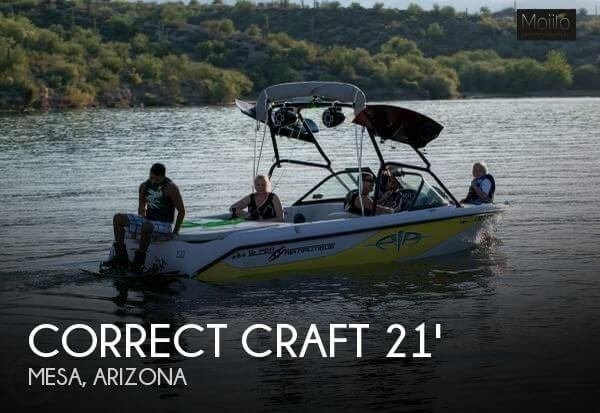 2002 Correct Craft Super Air Nautique 210 - Photo #1