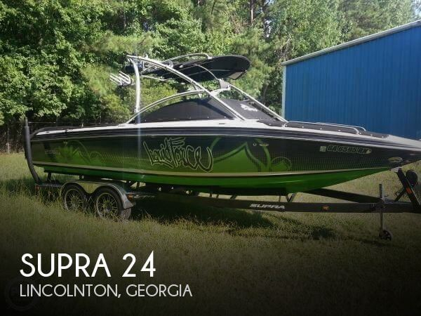 Used Boats For Sale in Augusta, Georgia by owner | 2009 Supra 24