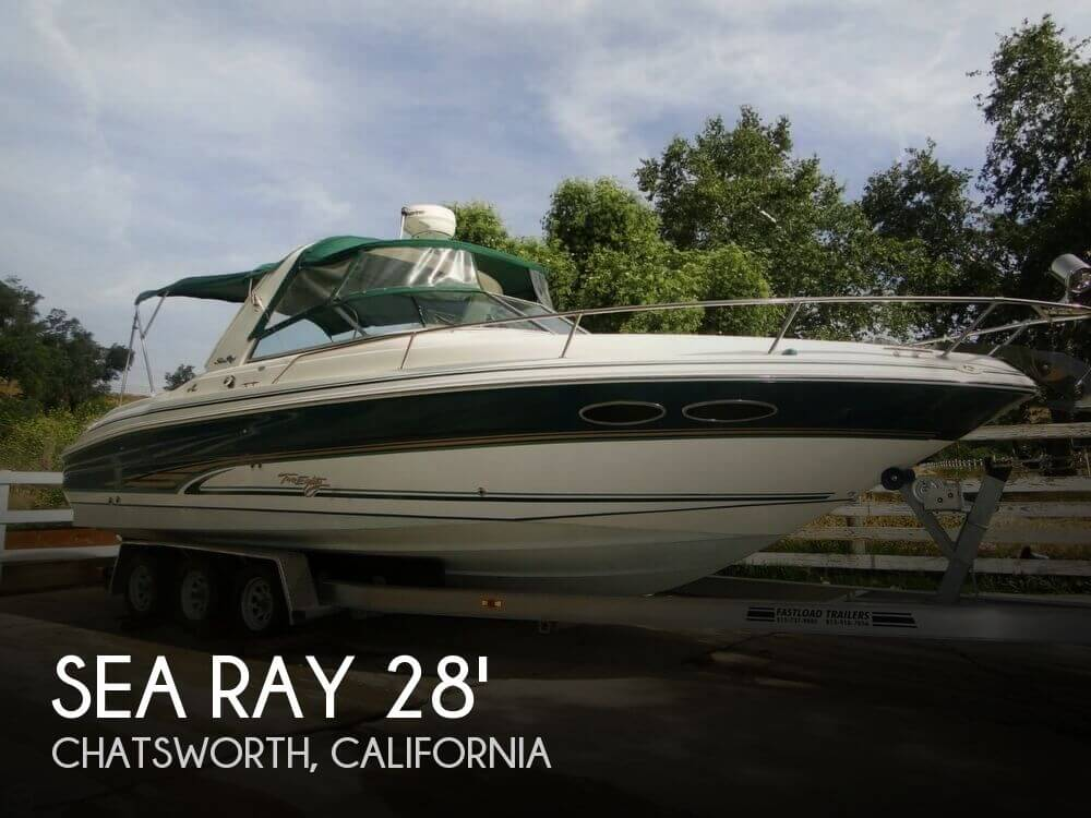 2001 Sea Ray 280 Sun Sport - Photo #1