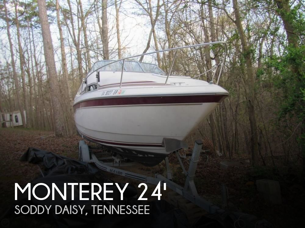 Used Monterey Boats For Sale in Georgia by owner | 1995 Monterey 256 Cruiser