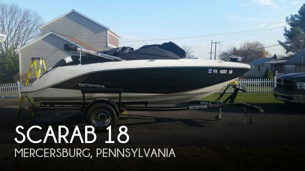 2014 Scarab boat for sale, model of the boat is 18 & Image # 1 of 7