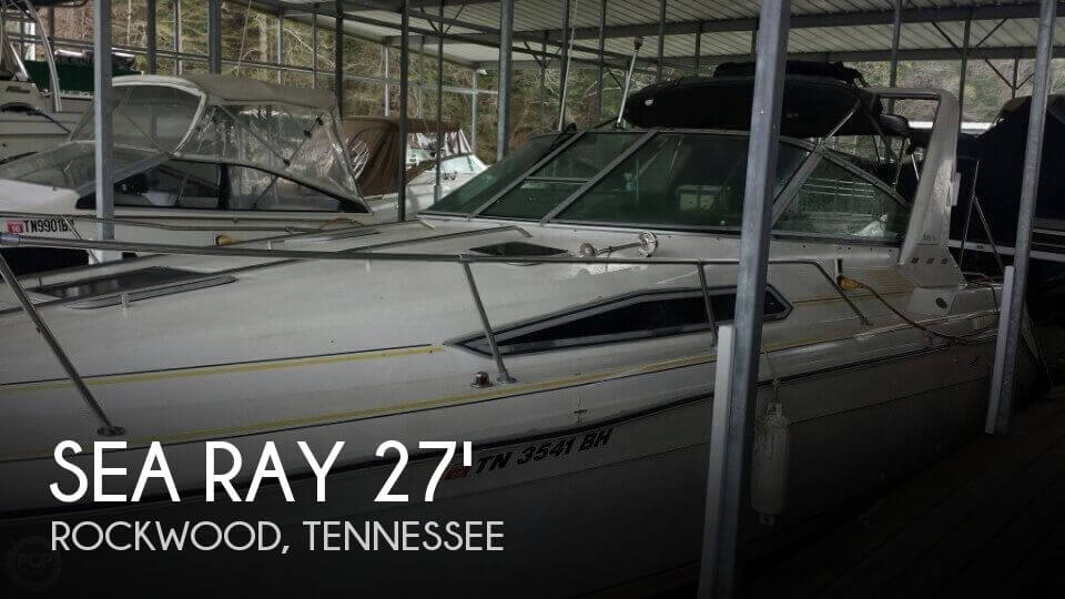 Used Boats For Sale by owner | 1990 Sea Ray 28