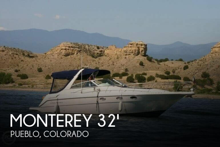 32 foot monterey 322 cruiser 32 foot monterey motor boat for Local motors pueblo co