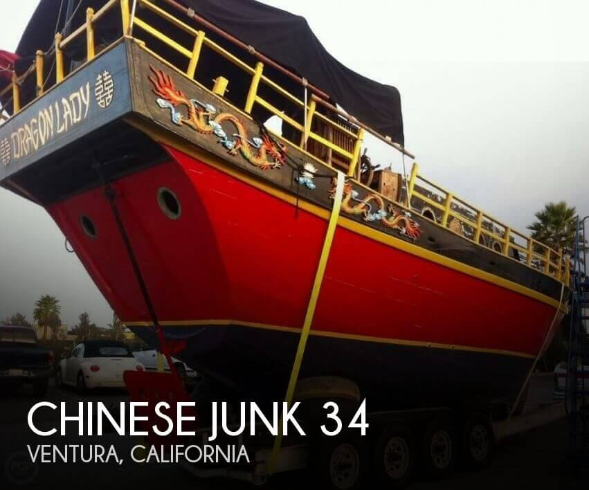 Used Boats For Sale in Santa Maria, California by owner | 1962 Chinese Junk 34