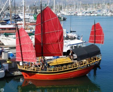 Chinese Junk 34, 33', for sale - $122,300