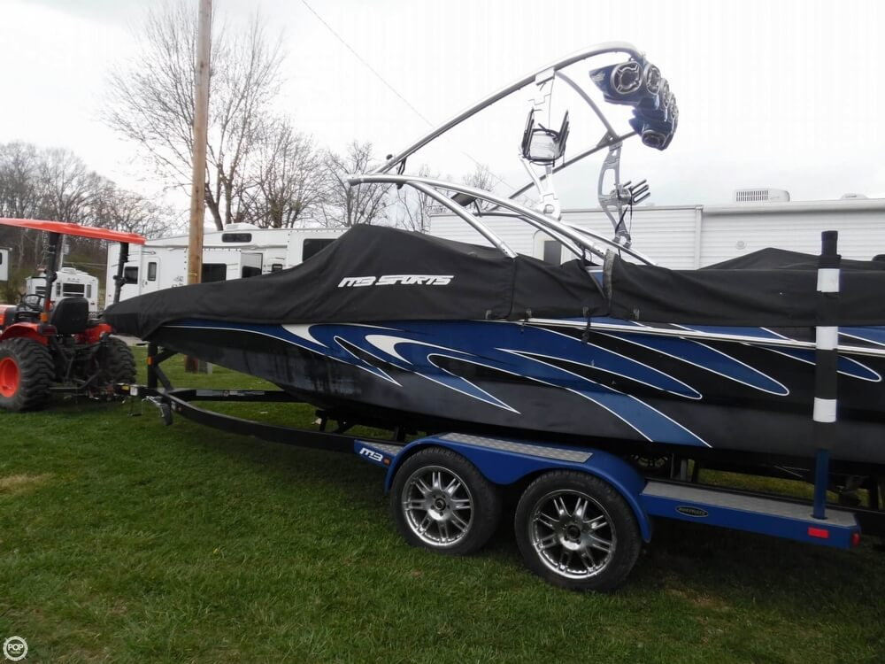 Custom Full Cover And Matching Boatmate Trailer