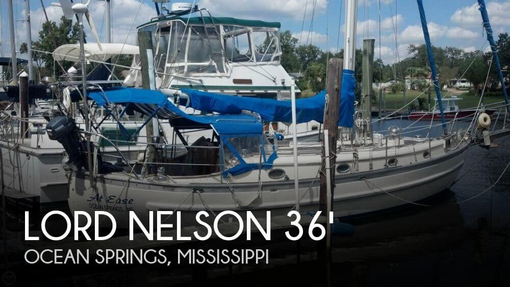 Used Boats For Sale in Gulfport, Mississippi by owner | 1986 Lord Nelson 36