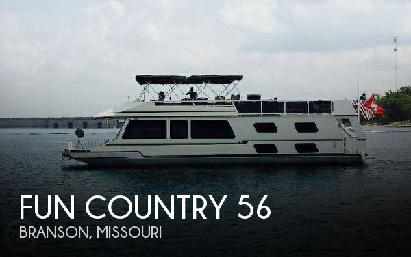 Used Houseboats For Sale in Missouri by owner | 1995 Fun Country 56