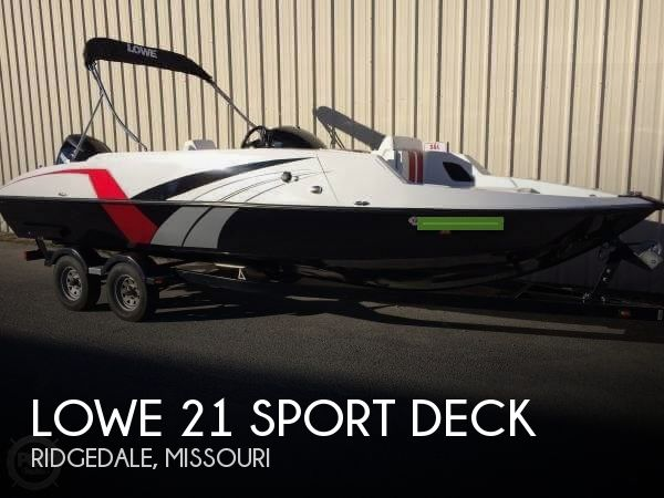 2014 LOWE 21 SPORT DECK for sale