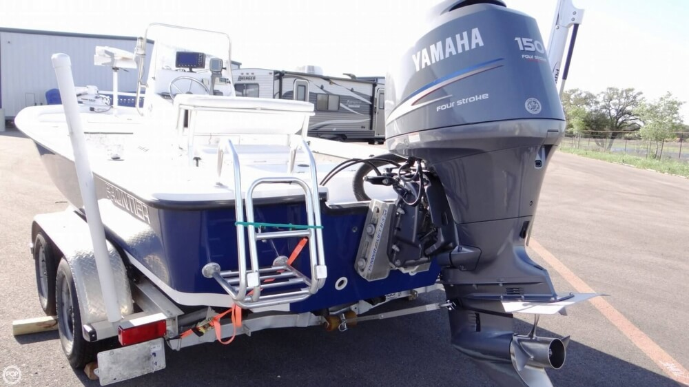 150 Hp Yamaha With Very Few Hours.