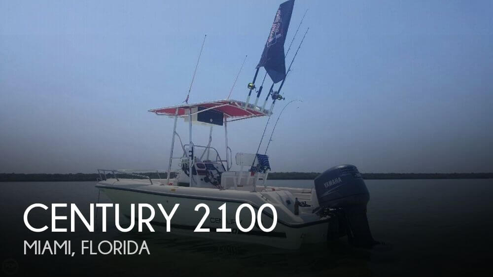 For sale used 2002 century 2100 in miami florida boats for Century motors of south florida