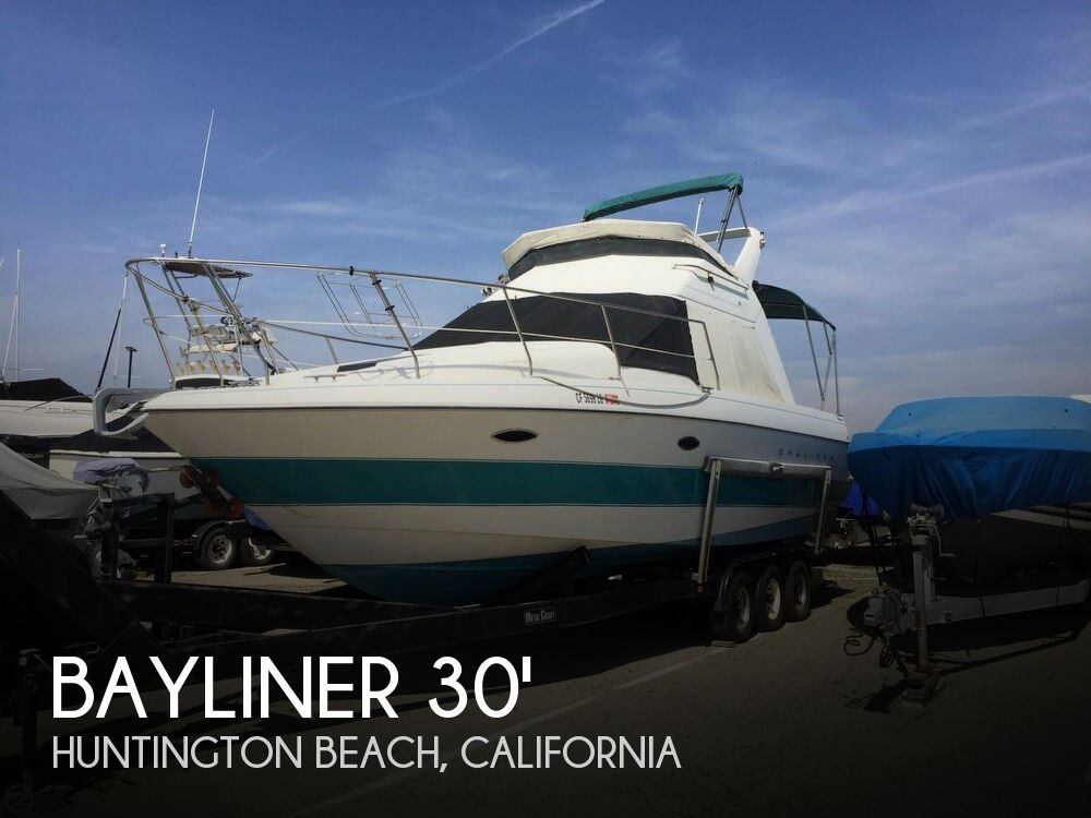 Used Bayliner Boats For Sale in California by owner | 1993 Bayliner 30