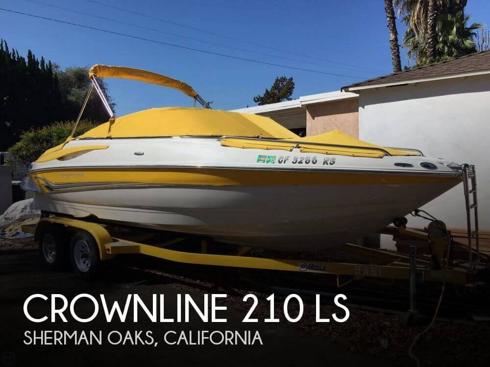 Used Crownline Boats For Sale in California by owner | 2007 Crownline 21